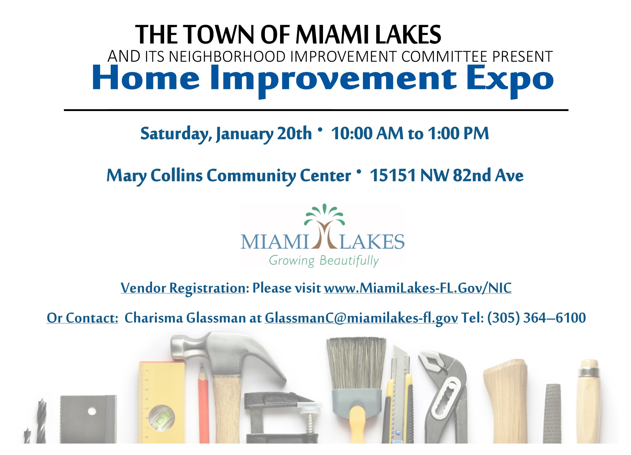 01.20.2018 NIC Home Improvement Expo
