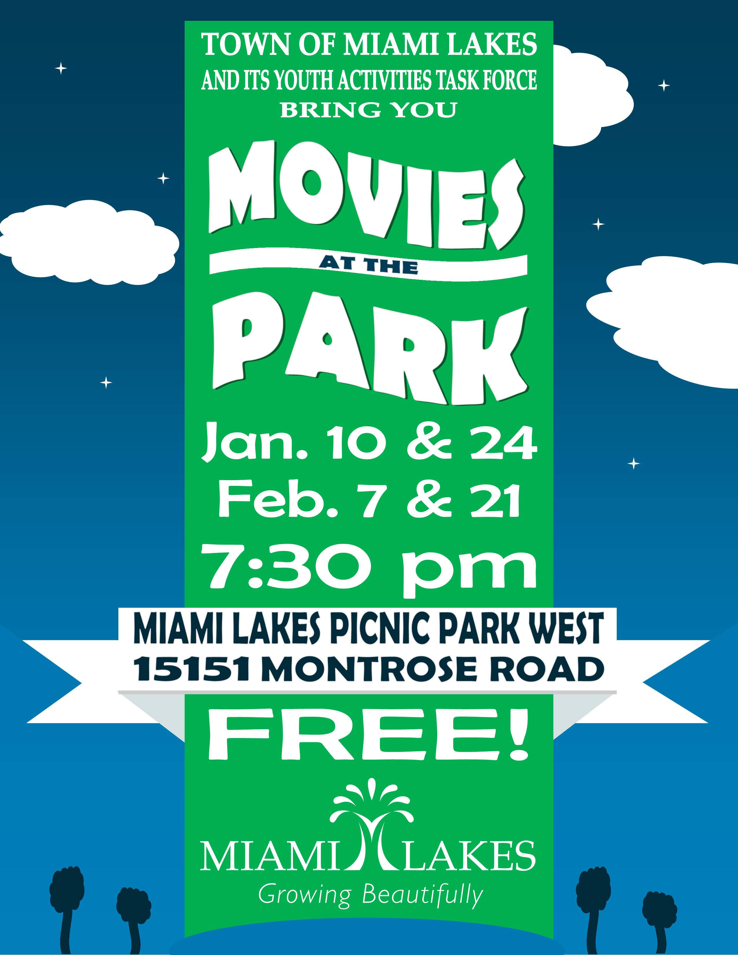 2014 MOVIES IN THE PARK FLYER