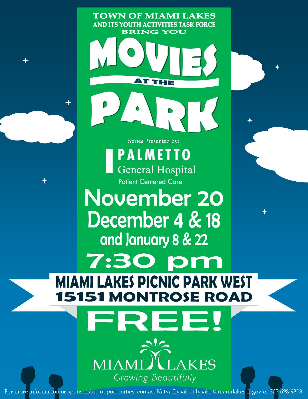 2015 MOVIES IN THE PARK FLYER 3