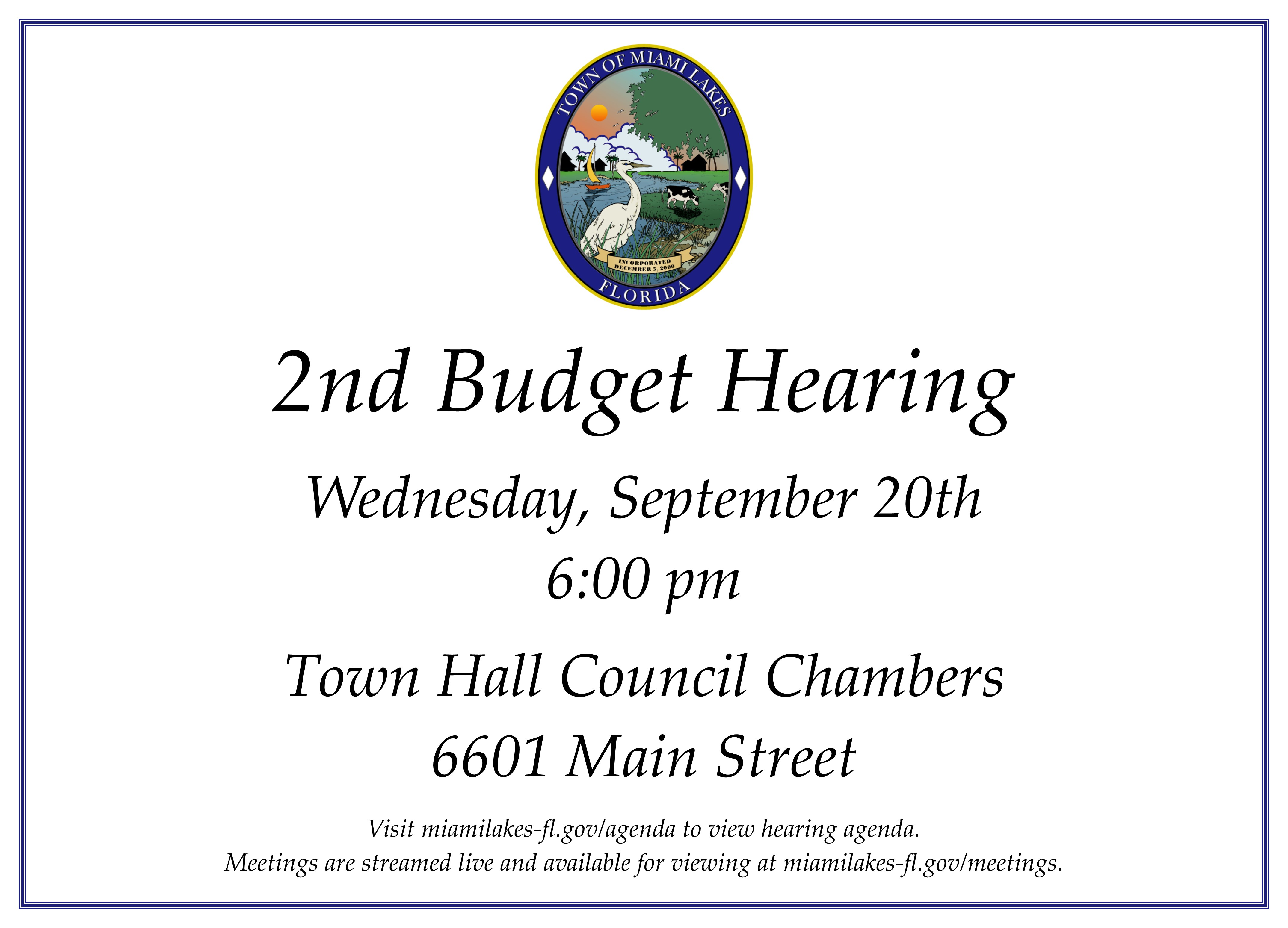 2nd Budget Hearing 09.20 Demo