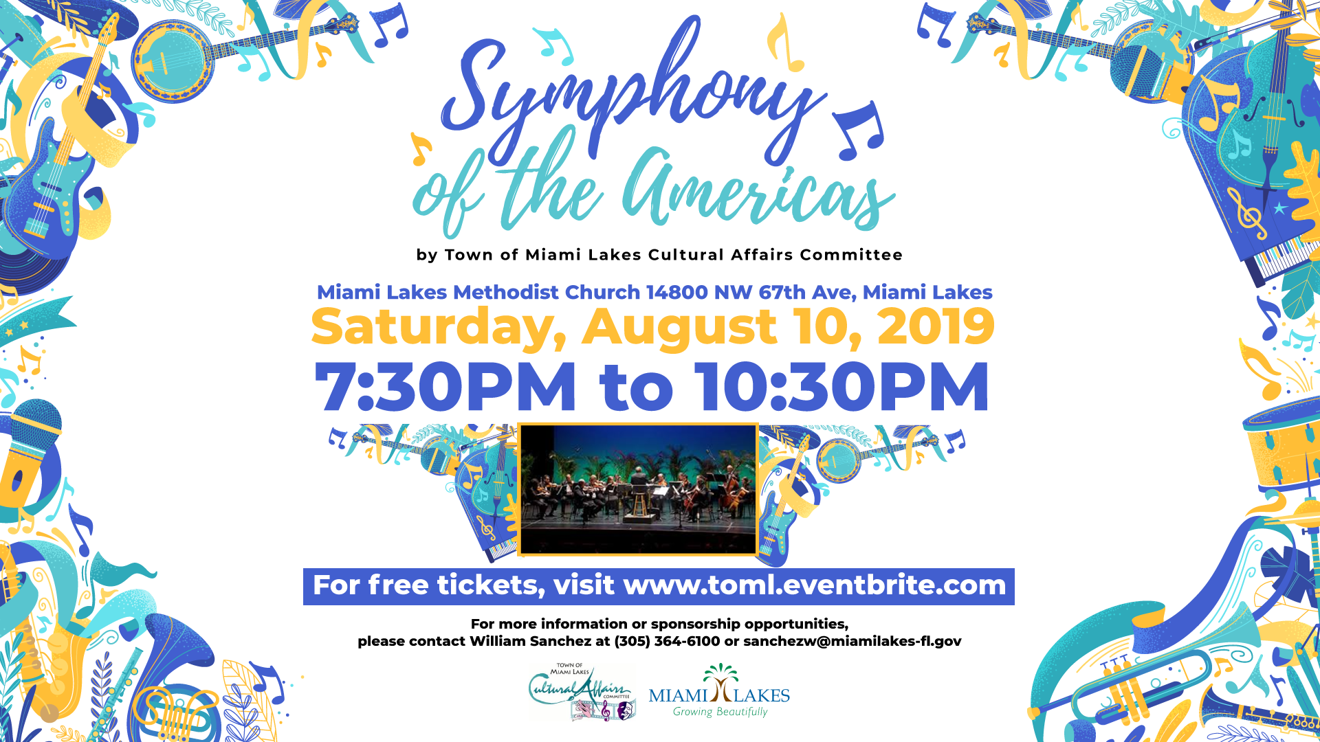Symphony of the Americas Flyer