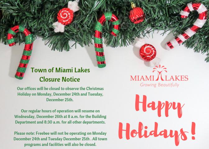 Town of Miami Lakes - Growing Beautifully - Christmas