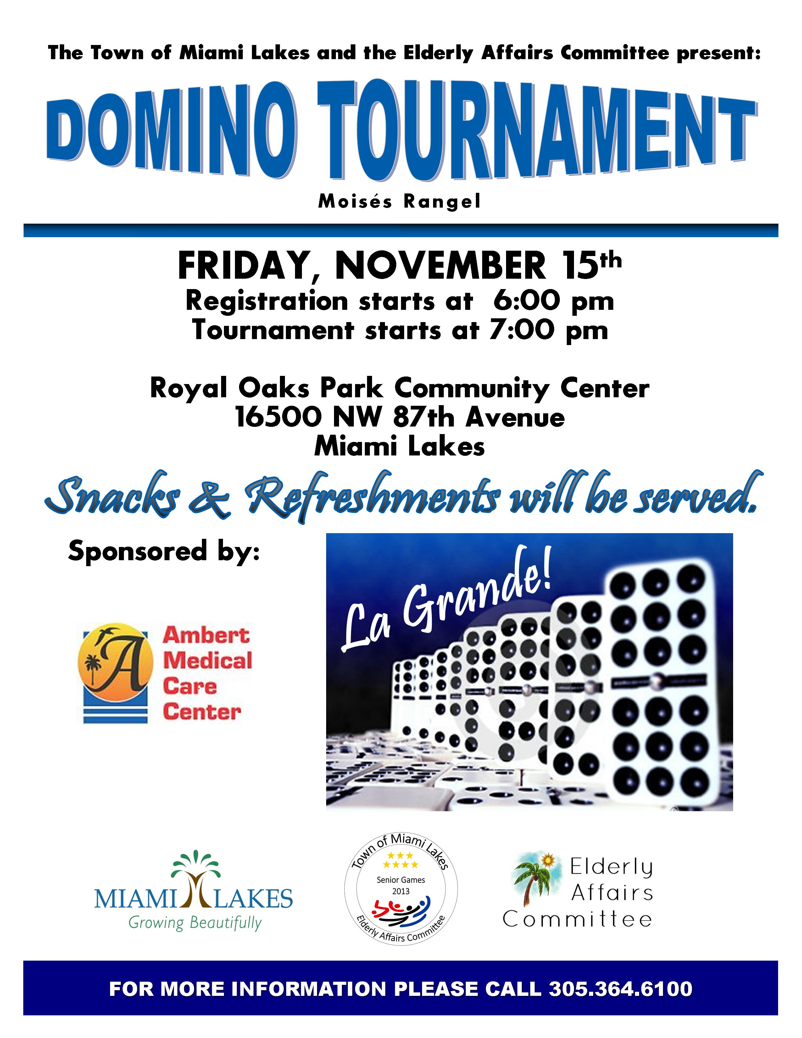 EAC Domino Tournament 2013