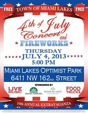 FOURTH OF JULY - FLYER - 2013
