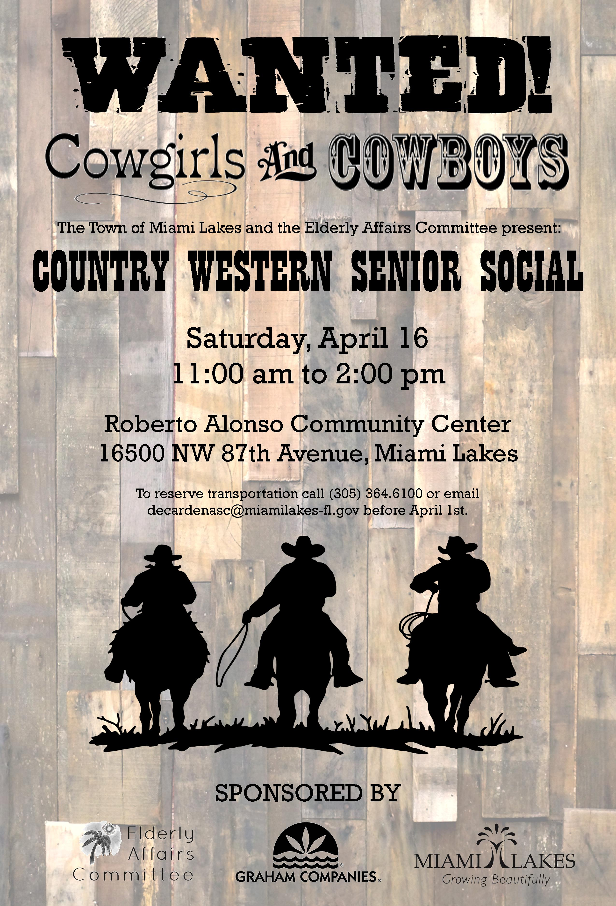 Country Western Social Flyer.REVISED