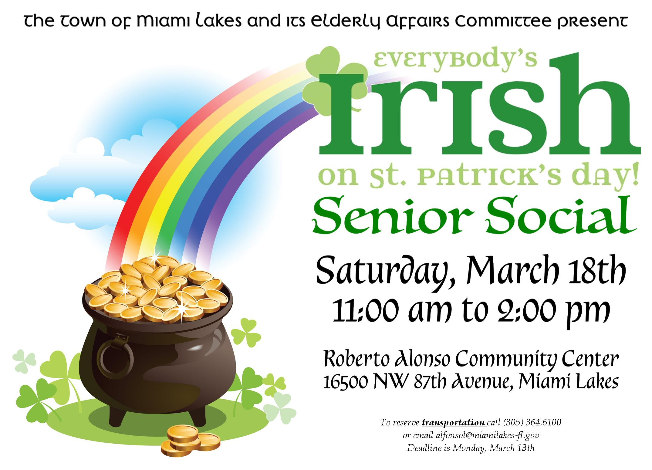 EAC St. Patricks Day Social