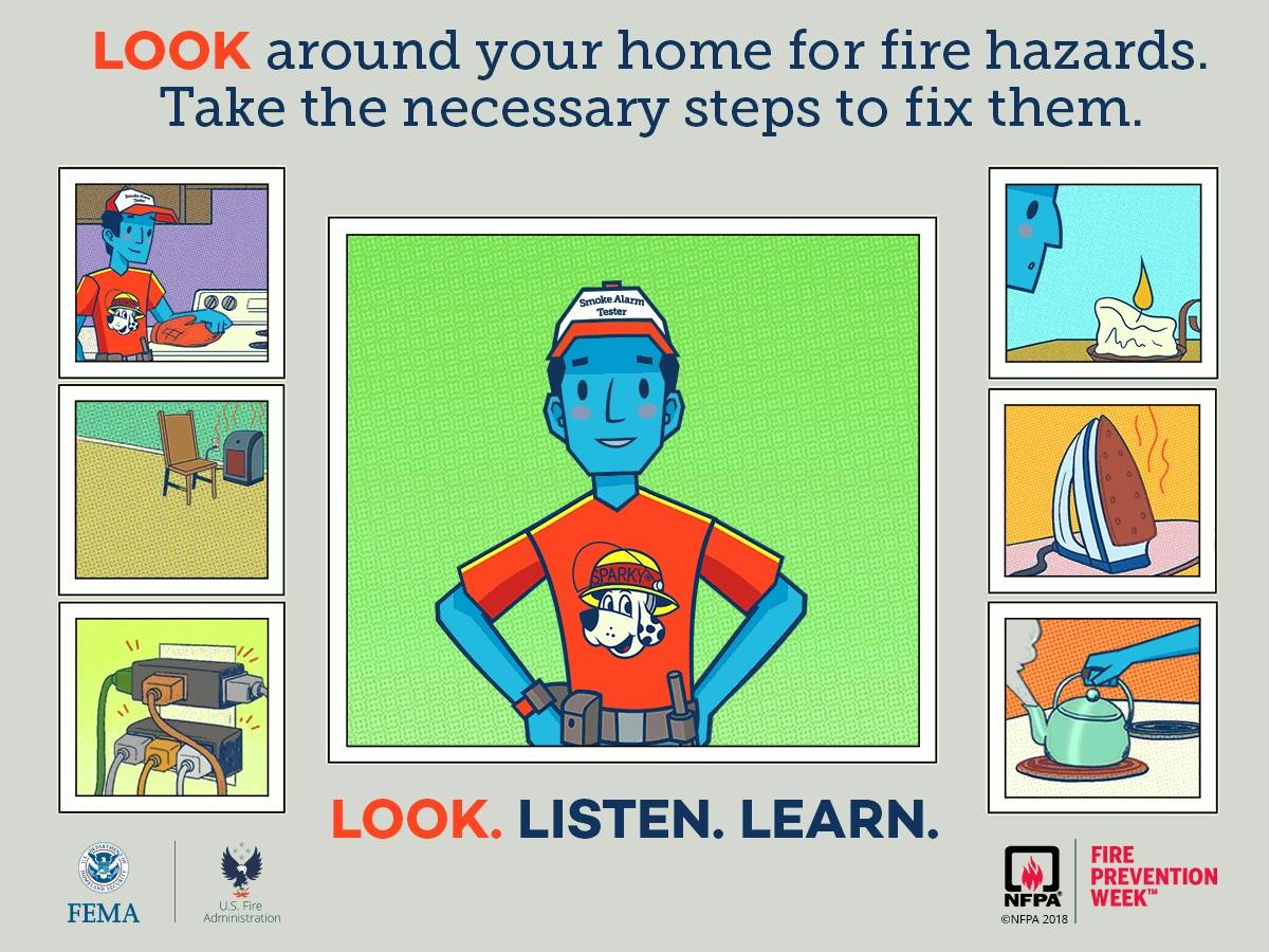 Fire Safety Tip #1