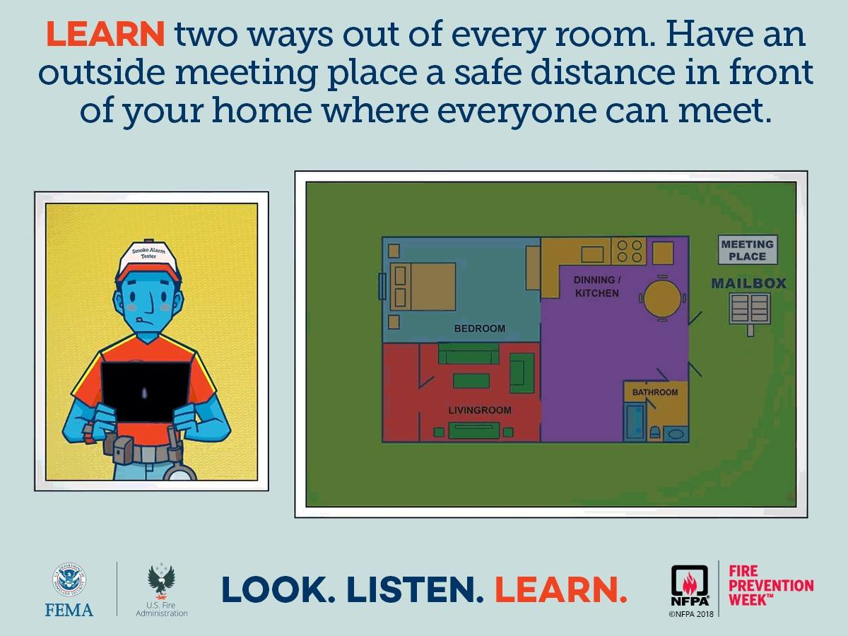 Fire Safety Tip #3