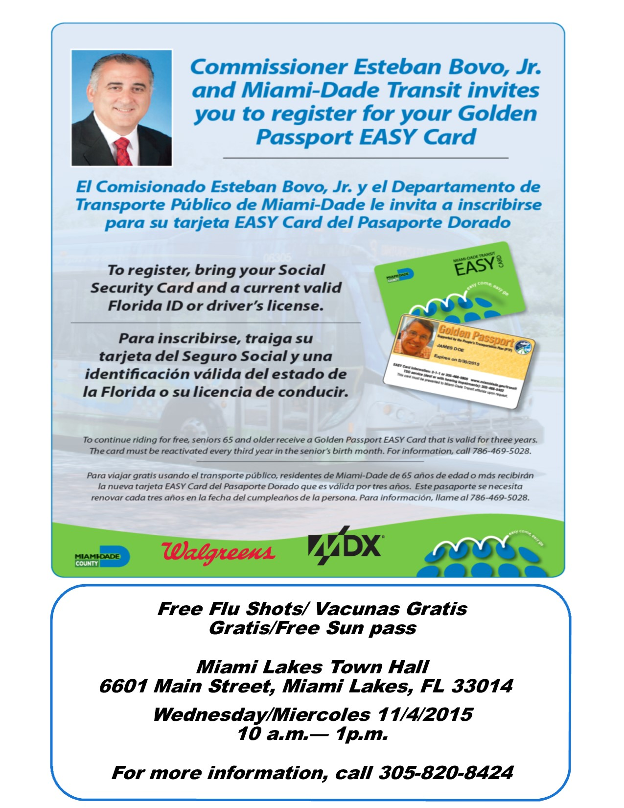 Golden Passport Miami Lakes TH 11.4.2015