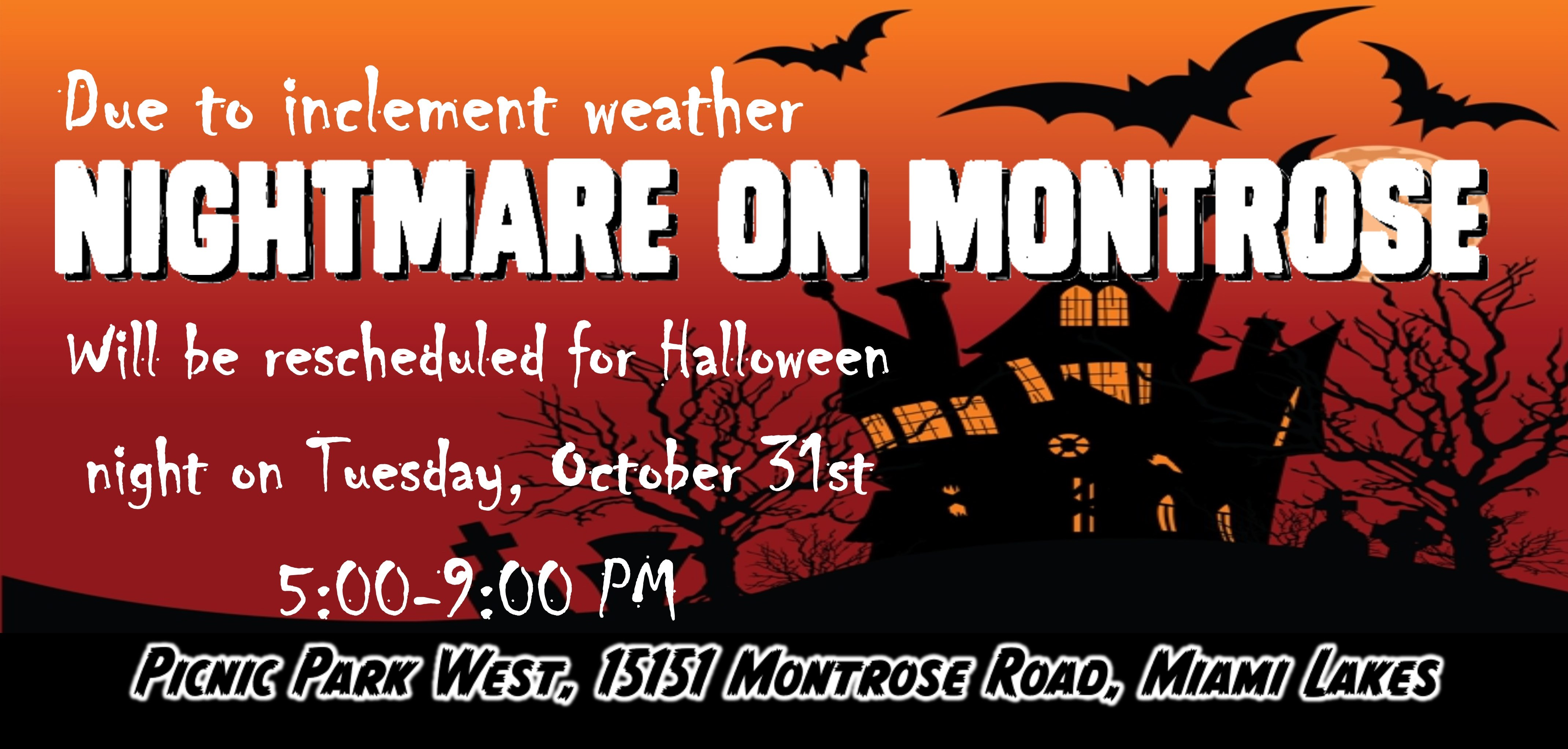 calling all ghosts and goblins to the annual halloween event nightmare on montrose kids of all ages are invited to celebrate halloween on saturday