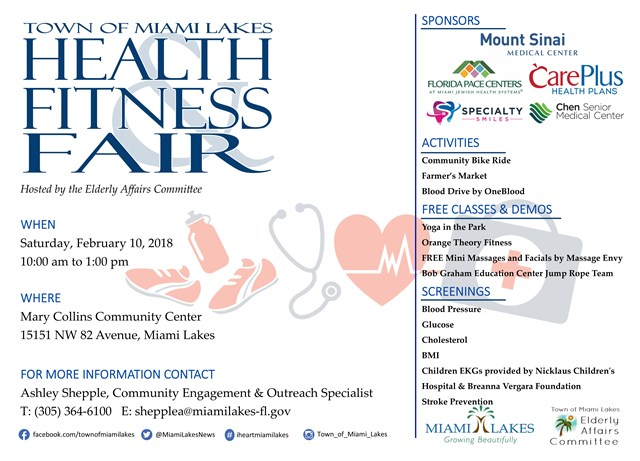 Health Fitness Fair 02.10.2018 Sponsors website