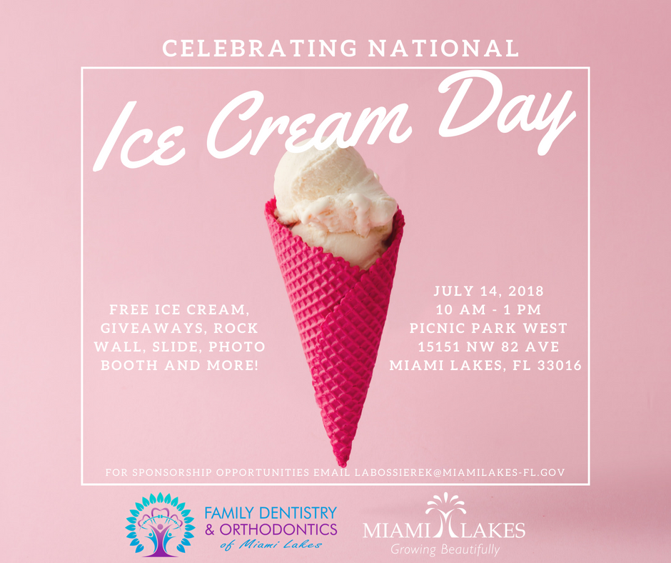 Ice cream Day Social Flyer
