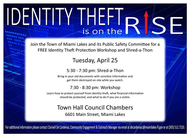 Identity Theft Workshop Flyer 2017 wesbite