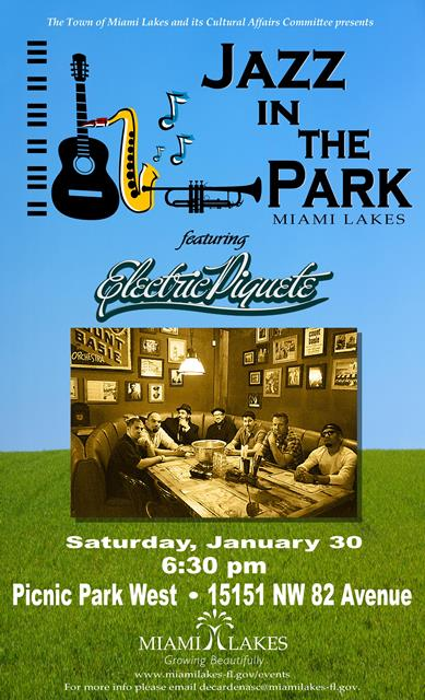 Jazz in the Park Flyer weblarge January