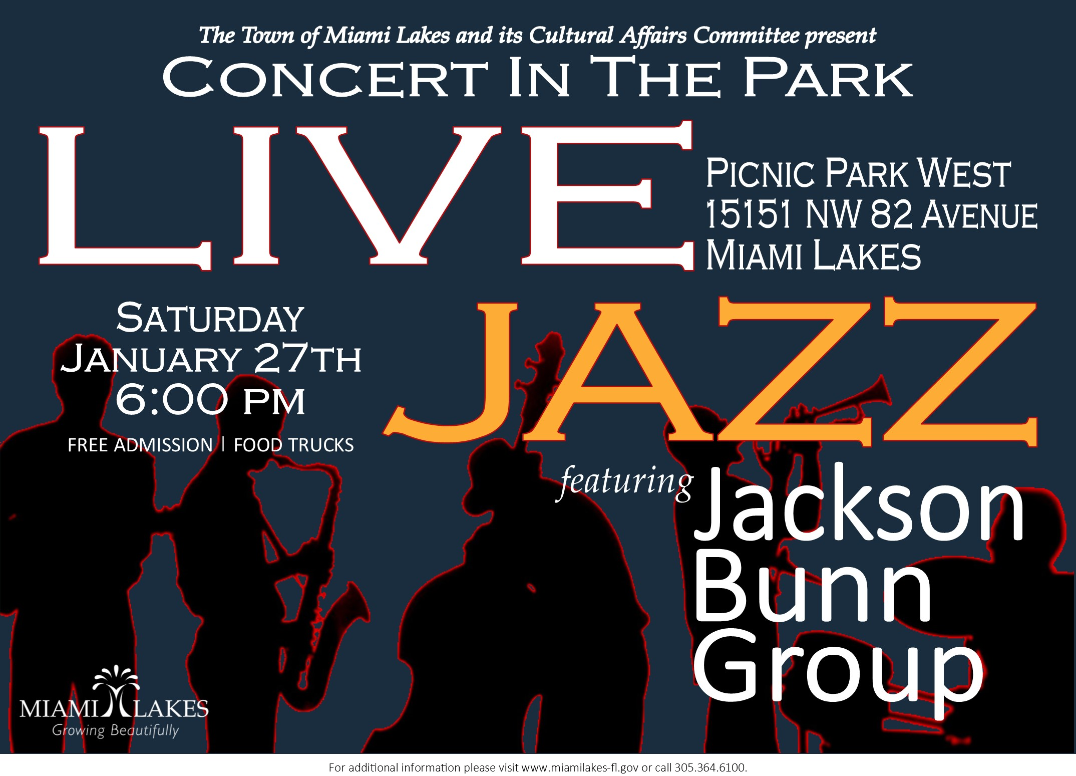 Jazz in the Park 01.27.2018
