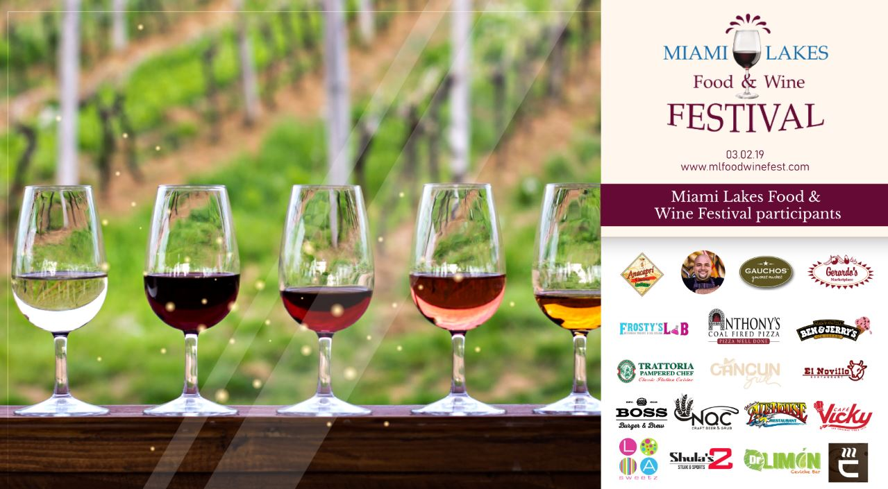 ML food and wine Flyer