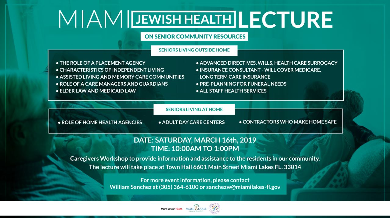 Miami Jewish Lecture MArch 22 Flyer