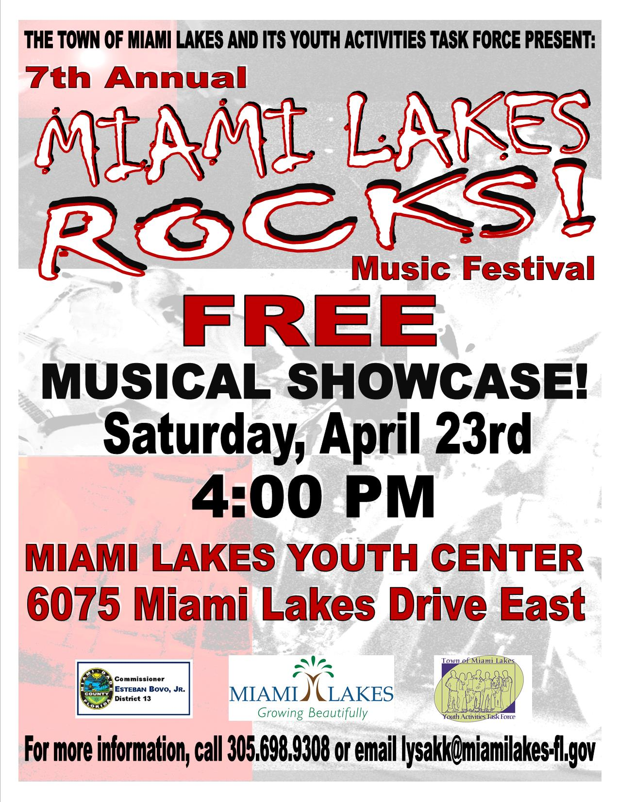 Miami Lakes Rocks April 23 2016 Flyer