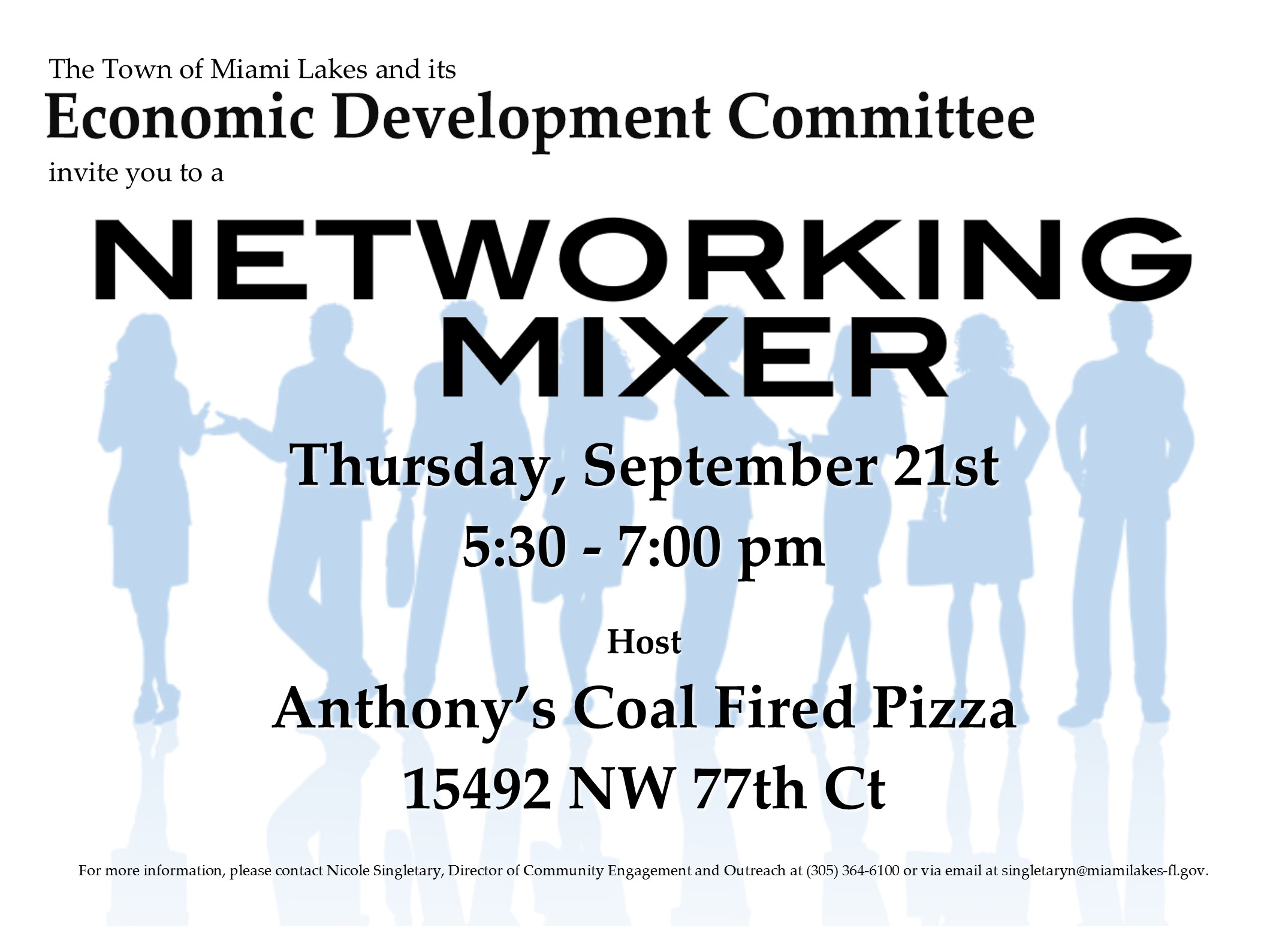 Networking Anthonys Coal Fired Pizza