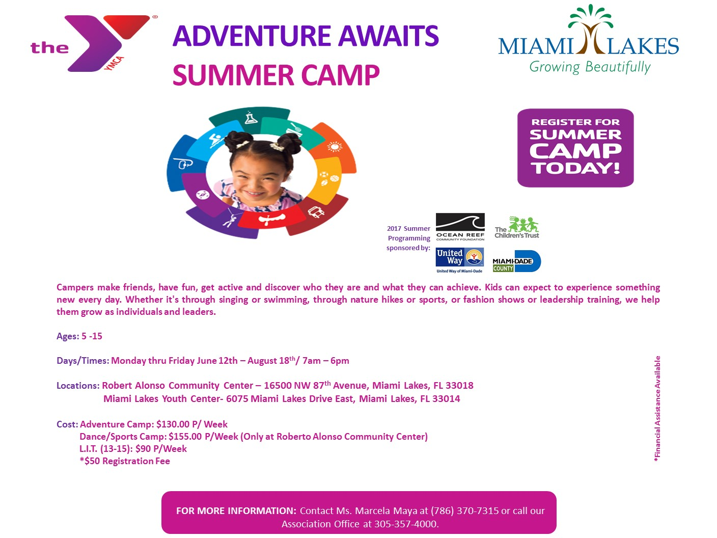Royal Oaks YMCA Summer Camp