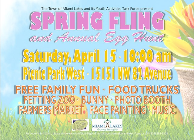 Spring Fling 2017 website