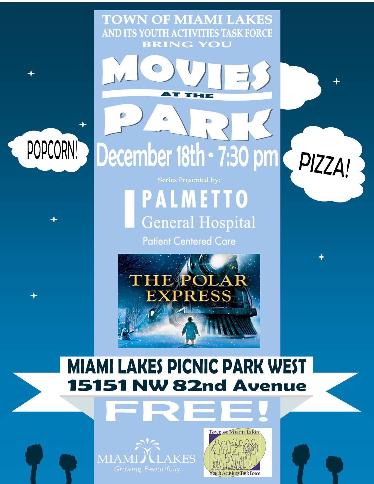 The Polar Express Flyer