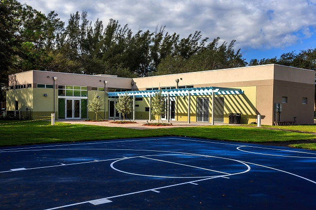 Youth Center Basket Court