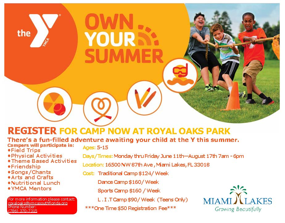 summer YMCA Royal Oaks