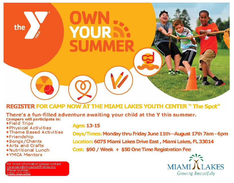 summer YMCA Youth Center