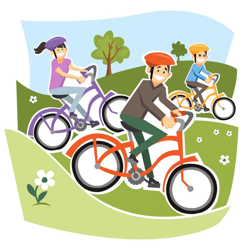 я еду на велосипеде картинки для вас