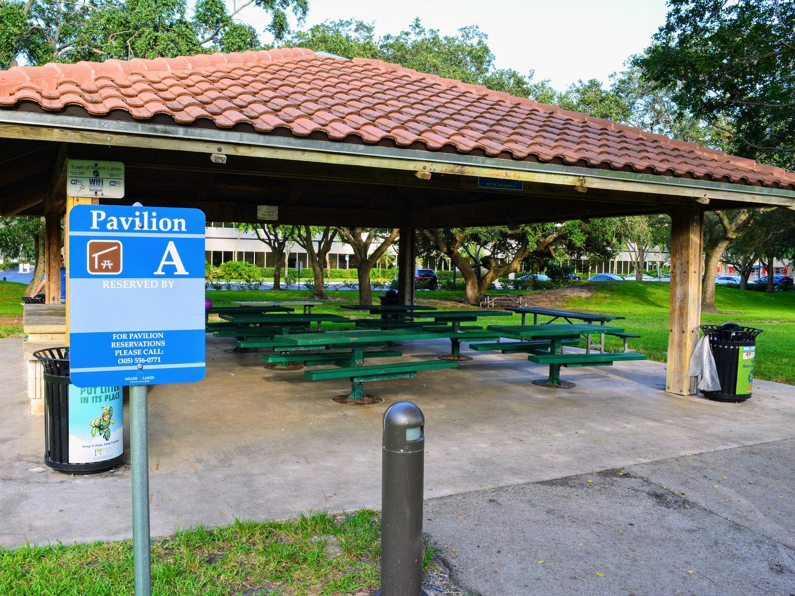 Town Of Miami Lakes Growing Beautifully Pavilion