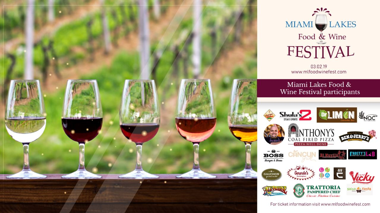 food and wine Flyer