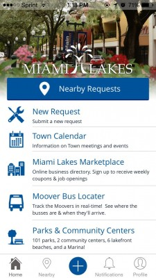 Lakes Life Mobile App Screen Shot