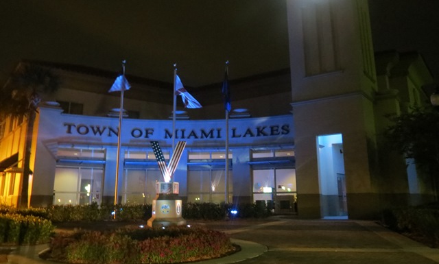Town Hall Goes Blue for Autism Awareness Month web
