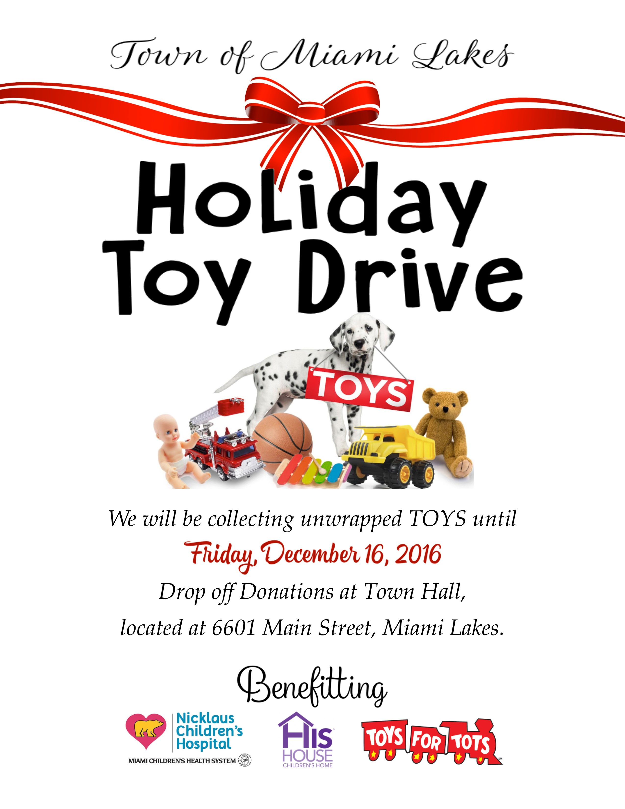 Toy Drive 2016