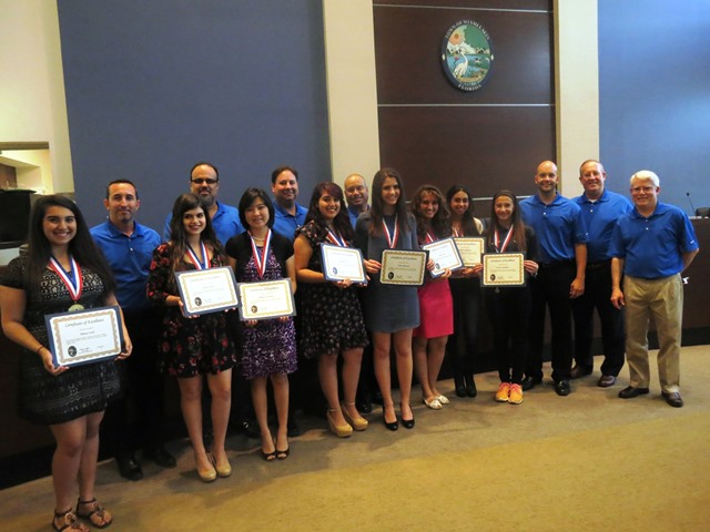 Volunteer Recognition Presidents Award winners and Council web
